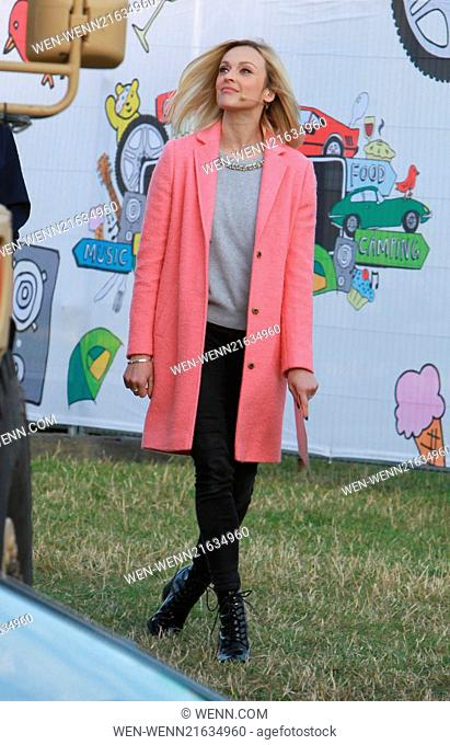 CarFest 2014 - Chris Evans' CarFest for BBC Children in Need Featuring: Fearne Cotton Where: Overton, United Kingdom When: 22 Aug 2014 Credit: WENN