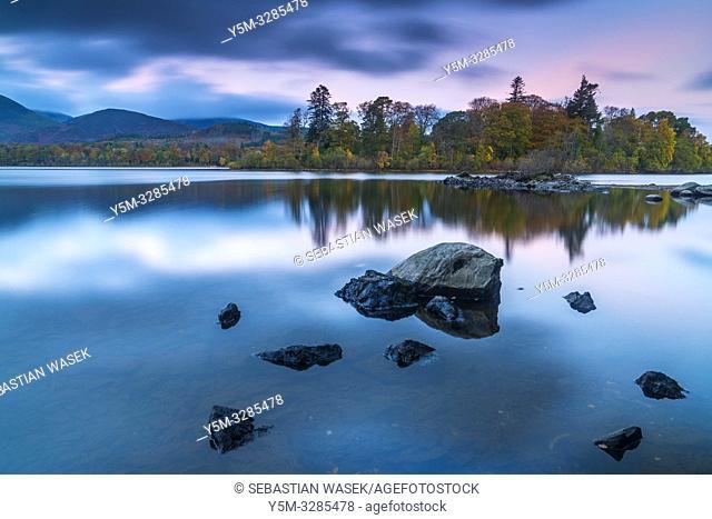 Derwent Water, Keswick, Lake District National Park, Cumbria, England, UK, Europe