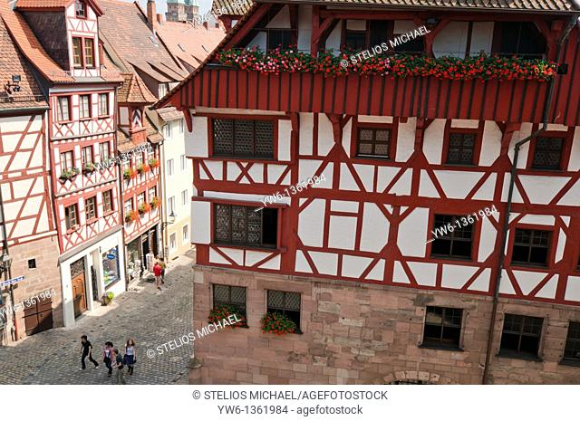 Nuremberg Medieval Architecture, Germany