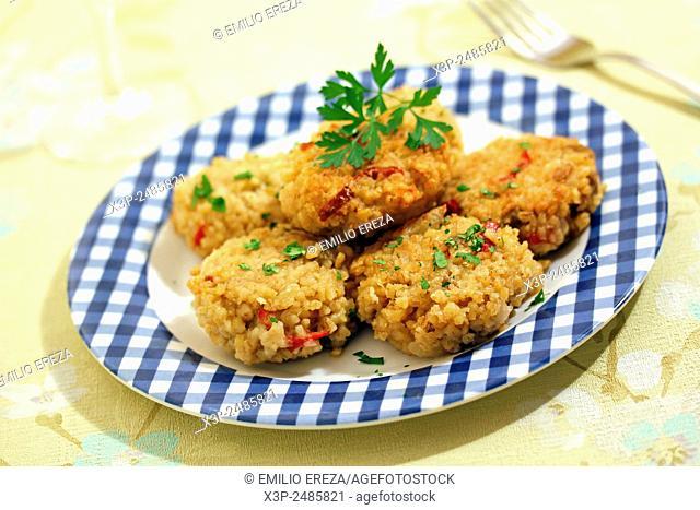 Vegetarian kibbeh