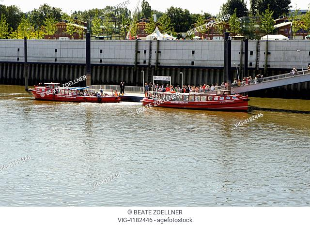 Maritime Circle Line - Veddel, Hamburg, Germany, 30/08/2008