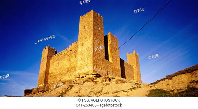 Castle. Sádaba. Zaragoza province, Spain