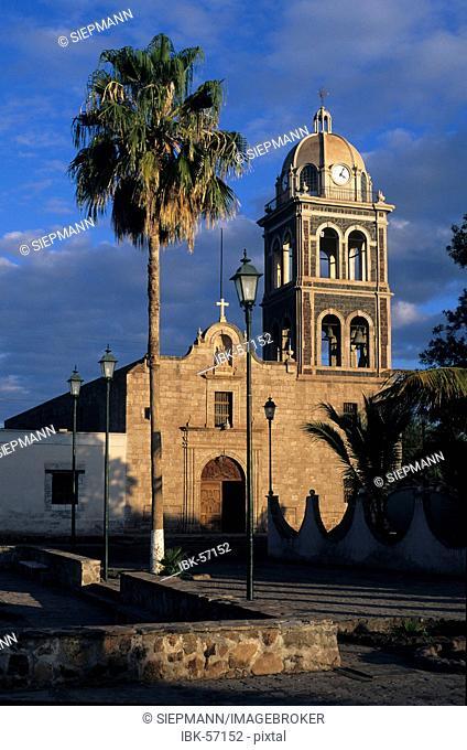 Mexico Baja California Sur Loreto church