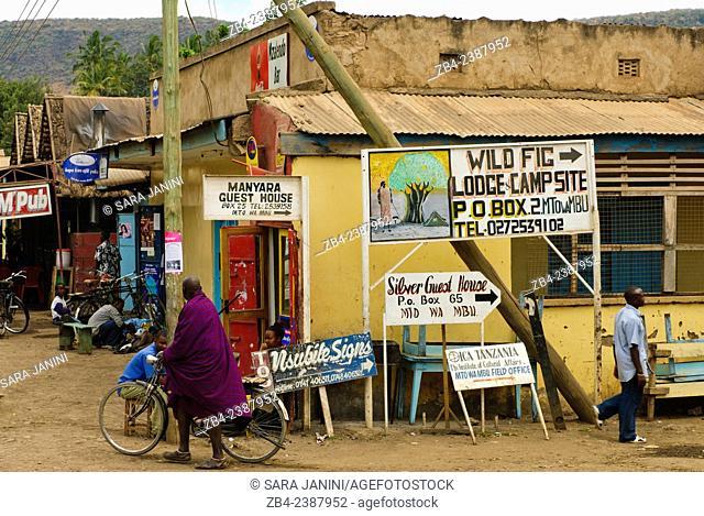 Mto Wa Mbu, a small village near Lake Manyara National Park, Tanzania, East Africa