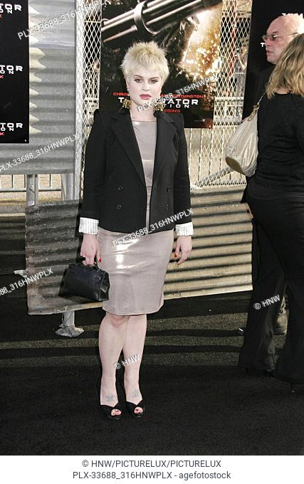 "Kelly Osbourne 05/14/09 """"Terminator Salvation"""" Premiere @ Grauman's Chinese Theatre, Hollywood Photo by Ima kuroda/HNW / PictureLux (May 14, 2009)"