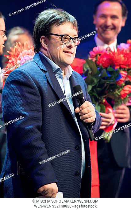 The main actor of the very successful film Yo También, Pablo Pineda Ferrer, is present at the premiere of the show Drs Down in the DeLaMar Theater in Amsterdam
