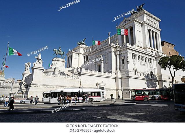 monument van Victor Emanuel II in Rome