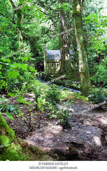 Irlande - Connemara - Abbaye et jardins victoriens de Kylemore