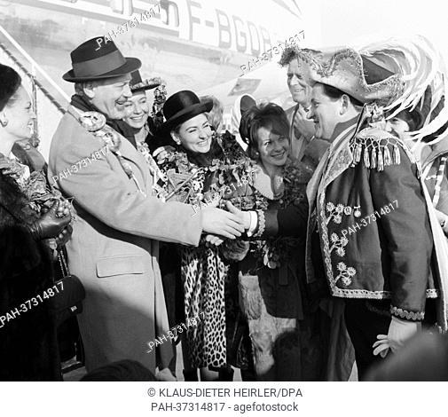 For the first time in the history of the carnival of Munich, a special plane lands on the 18th of January in 1963, to bring prominent visitors from Paris to...
