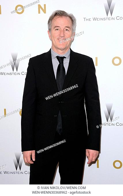 New York Premiere of 'Lion' at the Museum of Modern Art - Red Carpet Arrivals Featuring: Luke Davies Where: New York, New York