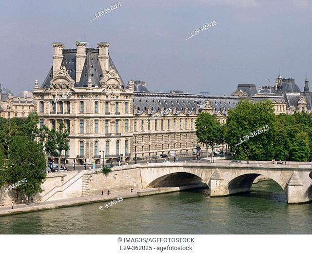 Louvre Museum. Paris, France