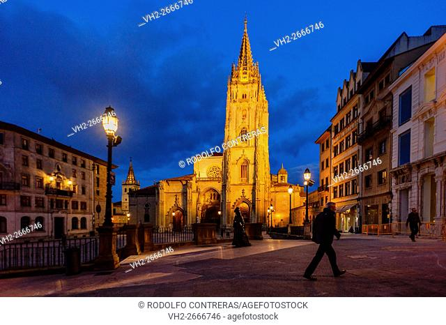 Oviedo cathedral, Asturias (Spain)