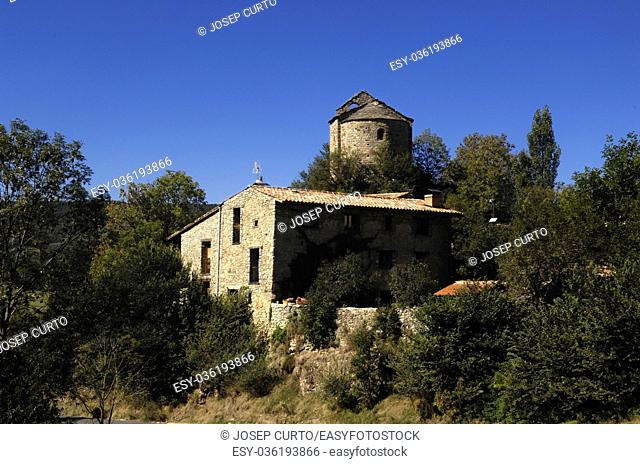 Church of Sant Julia de Pedra, Pedra, Cerdanya, Girona, Spain