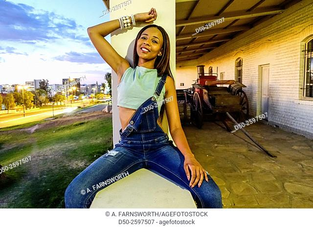 WINDHOEK NAMIBIA Fashion model
