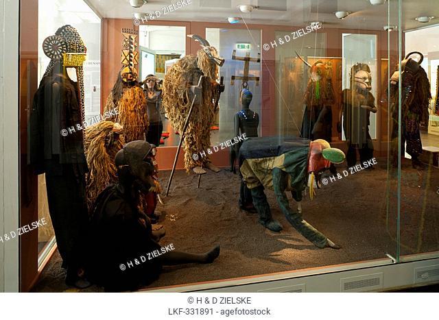 Museum of Ethnology Hamburg, Africa exhibition, Hanseatic city of Hamburg, Germany, Europe