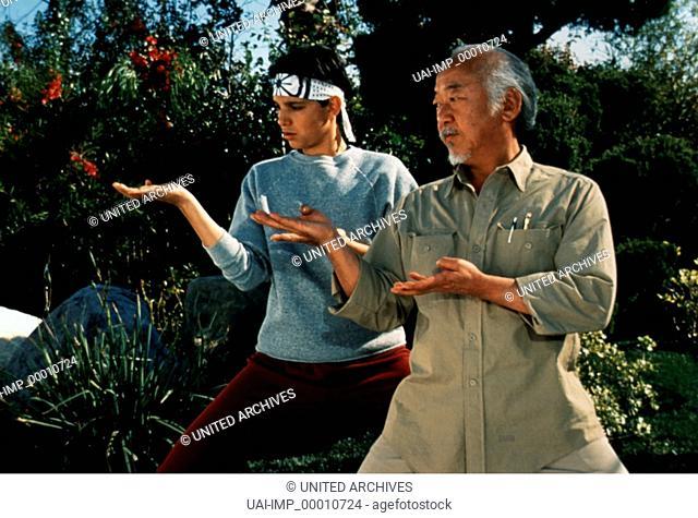 Karate Kid III - Die letzte Entscheidung, (KARATE KID III) USA 1989, Regie: John G. Avildsen, RALPH MACCHIO + NORIYUKI PAT MORITA, Stichwort: Kampfsport