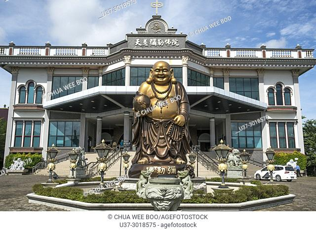 Pontianak Buddhist temple, West Kalimantan, Indonesia