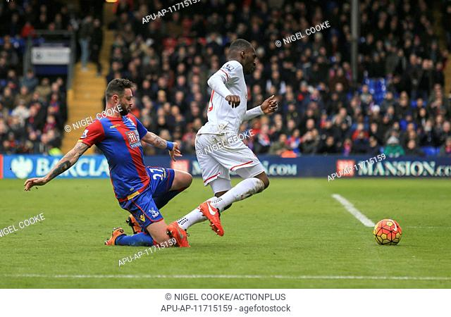 2016 Barclays Premier League Crystal Palace v Liverpool Mar 6th. 06.03.2016. Selhurst Park, London, England. Barclays Premier League
