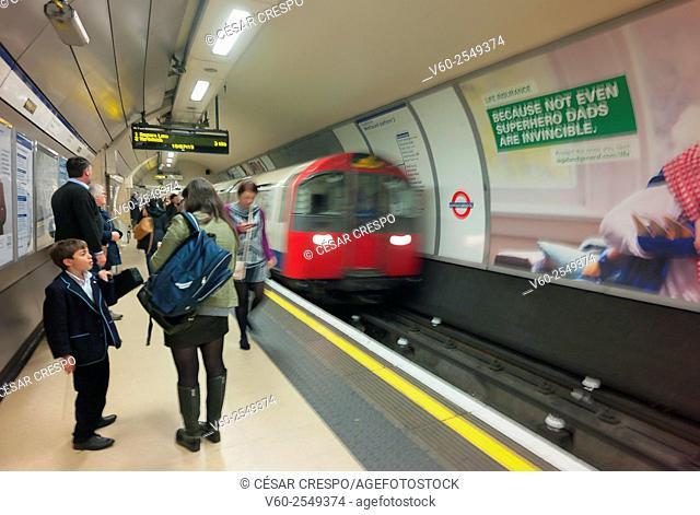 Knightsbridge tube station, London, England, UK