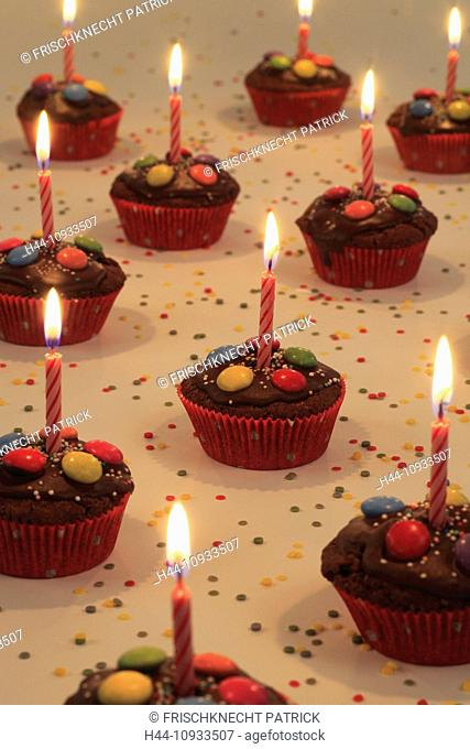 Decoration, Adornment, dessert, celebration, birthday, celebration, birthday cake, birthday party, candle, candles, cakes, chicks, sweet, Food, party, chocolate