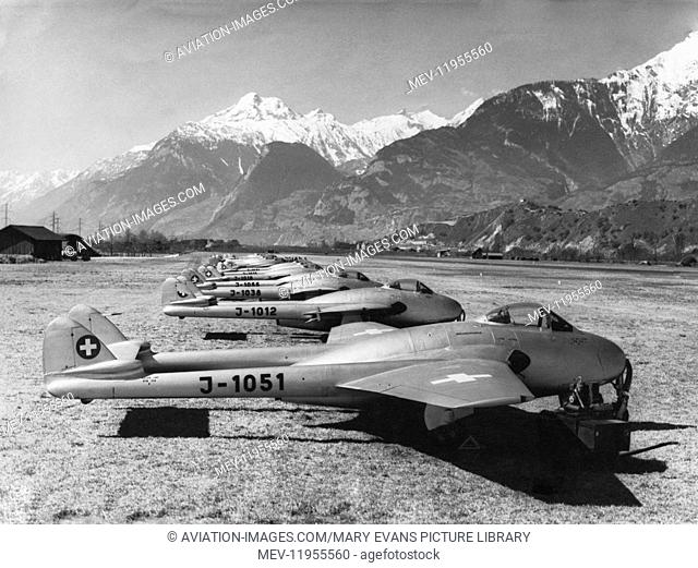RAF de Havilland Dh-100 Vampire Fb.6