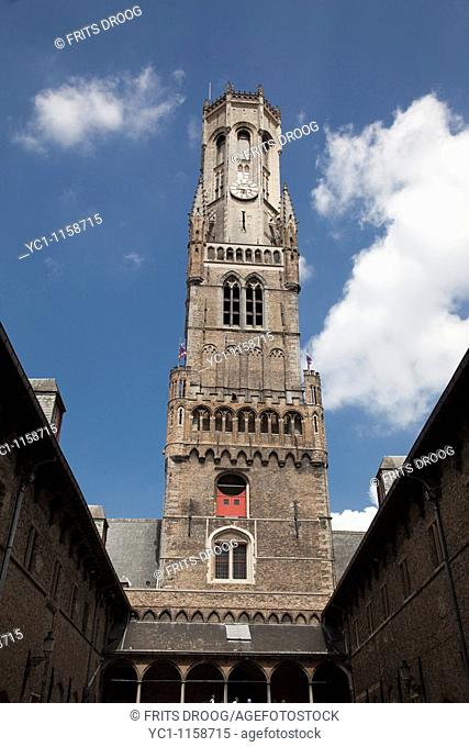 The Belfry at Bruges, Belgium
