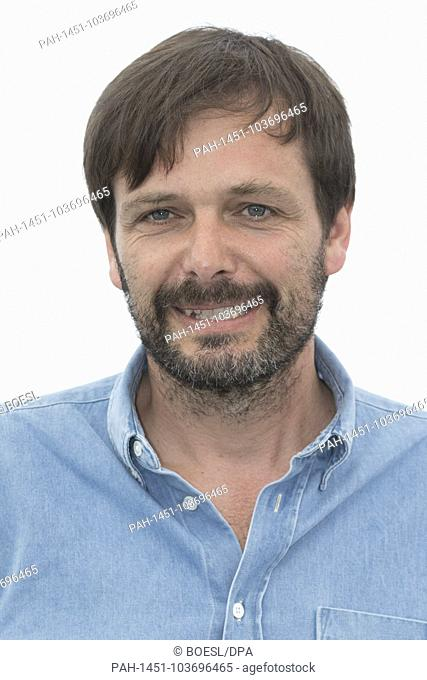 Ulrich Kohler attends the photo call of 'In My Room' during the 71st Cannes Film Festival at Palais des Festivals in Cannes, France, on 17 May 2018
