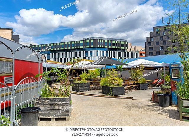 Paris, France, Suburbs, Street Scenes, Porte de Lilas, Seine Saint Denis,