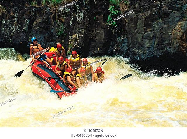 Lifestyle, Sport, White water rafting