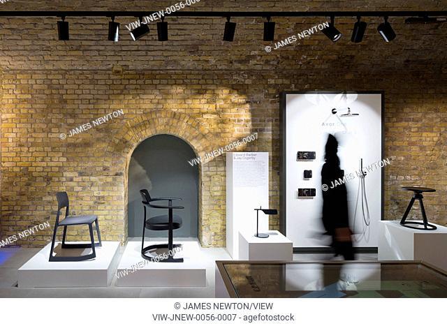 Gallery display. C P Hart Showroom, London, United Kingdom. Architect: Morrow + Lorraine Architects, 2015