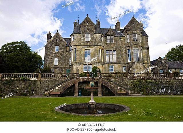 Castle, Torosay, Craignure, Isle of Mull, Scotland