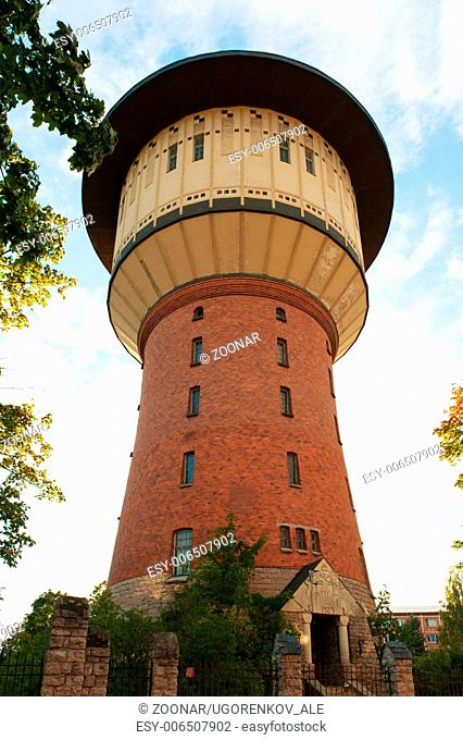 Old water tower Riga