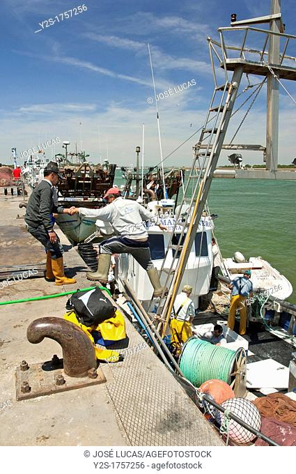 Fishing port, Punta Umbria, Huelva-province, Spain