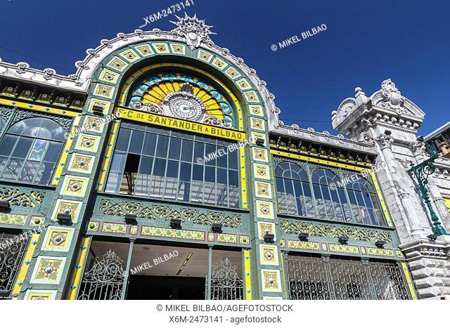 La Concordia Train Station. Bilbao. Biscay, Spain, Europe