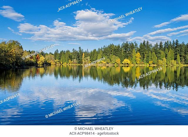 Lost Lagoon, Stanley Park, Vancouver, British Columbia, Canada