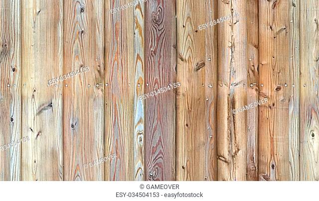 HD seamless texture, wooden wall with knots and nails