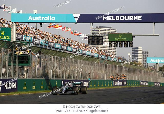Motorsports: FIA Formula One World Championship 2019, Grand Prix of Australia, .#44 Lewis Hamilton (GBR, Mercedes AMG Petronas Motorsport), | usage worldwide