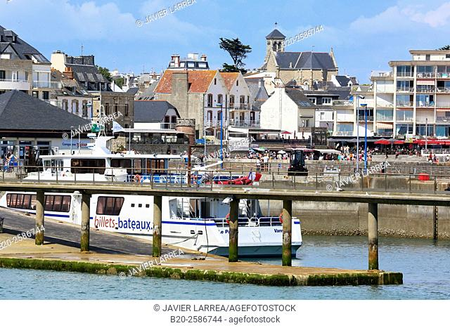 Port Haliguen, Quiberon, Cote de Morbihan, Brittany, Bretagne, France