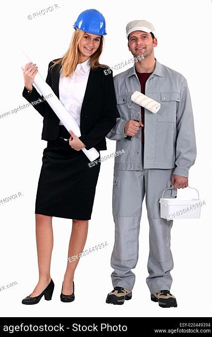 Architect and decorator
