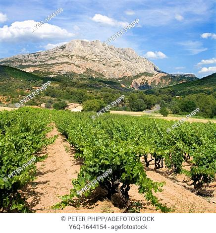 Mont Saint Victoire , Provence South France