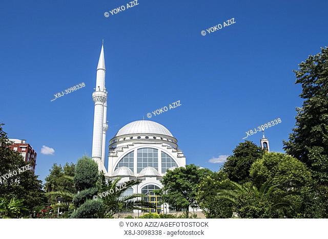 Albania, Shkoder, local mosque