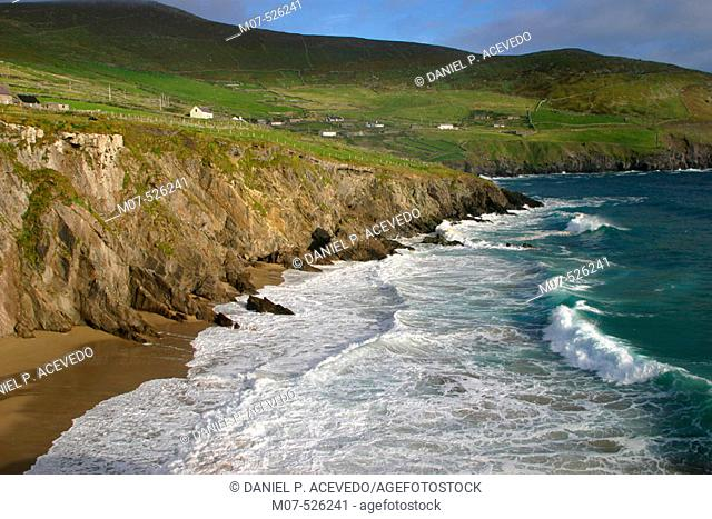 Slea Head. Cumeenoole Strand. Ring of Kerry. Co. Kerry. Ireland