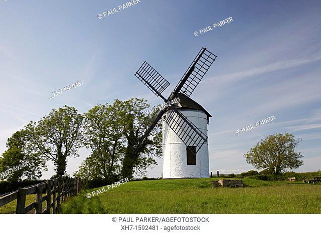 Ashton Windmill at Chapel Allerton, Somerset, England, UK