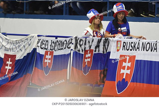 Fahne Banner 2015 Ice Hockey World Championship Czech Republic Prag Ostarva #16 Sport