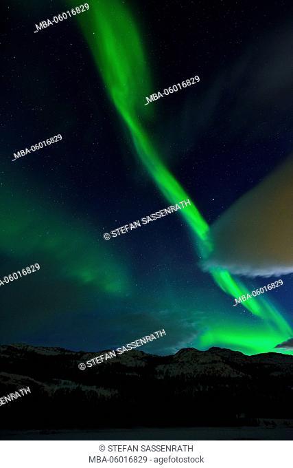 Northern Lights near Skaidi