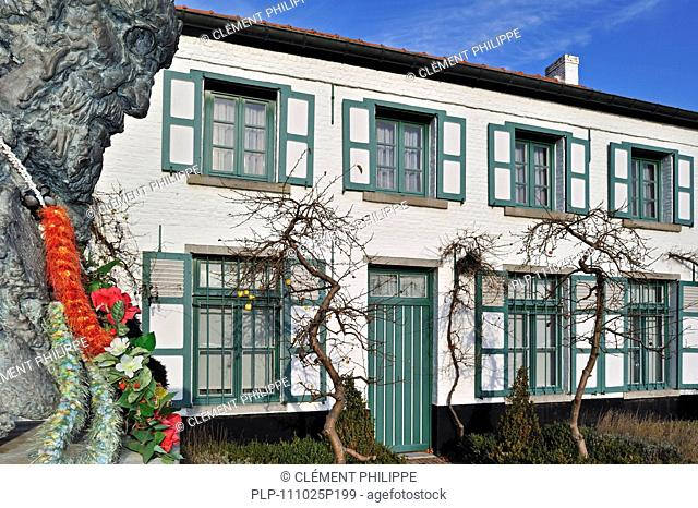 Birthplace at Tremelo, Belgium of Father Damien / Saint Damien of Molokai / Jozef De Veuster, Roman Catholic missionary who ministered to lepers on the island...