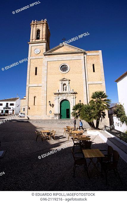 Nuestra Señora del Consuelo church, Altea, Alicante, Spain