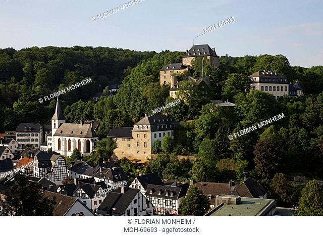 Pfarrkirche St. Mariä Himmelfahrt und Burg