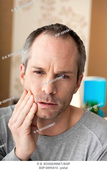MAN WITH TOOTHACHE Model