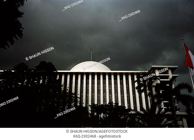 The Istiqial Mosque in Jakarta in Indonesia